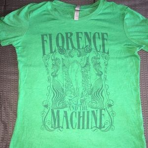 Florence and The Machines Concert tee shirt